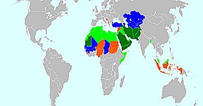 Islamiska Länder I Världen