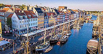 Inseln Von Dänemark Nach Bevölkerung