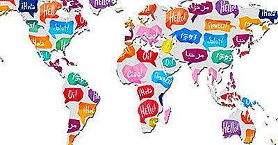 Taal Families Van De Wereld