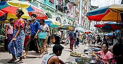 Maiores Grupos Étnicos Em Mianmar (Birmânia)