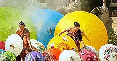 Största Etniska Grupper I Thailand