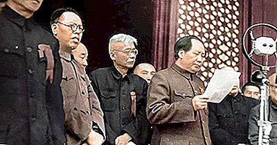 Ledere Av Kommunistiske Kina Gjennom Historien