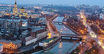 Ciudades Principales En Ucrania