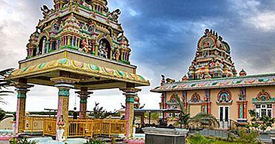 Die Großen Religionen Praktiziert In Mauritius
