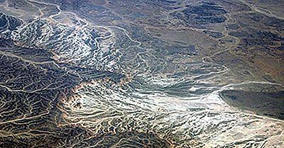 Major Wadis Of Egypt