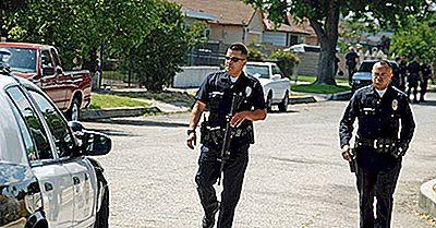 Estados Unidos Más Peligrosos Para Ser Un Oficial De Policía
