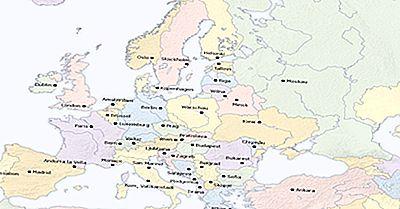 Cidades Capitais Nacionais Na Europa