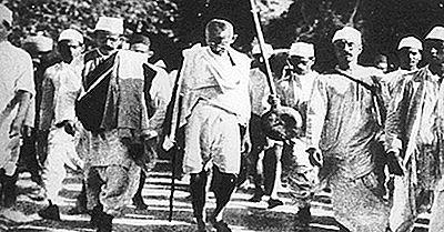 El Movimiento Nacionalista En La India Y El Papel De Mahatma Gandhi Y La No Violencia