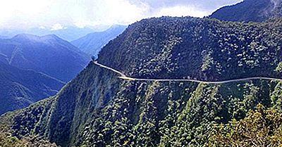 North Yungas Road - Boliviens Heimtückische Straße Des Todes