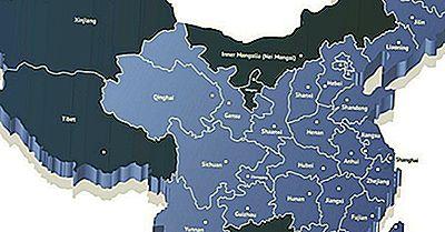 Provinser Och Administrativa Avdelningar I Kina
