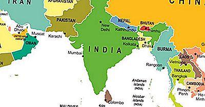 Sul Da Ásia: Países Constituintes E Suas Populações E Economias