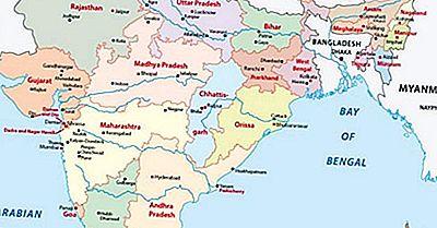 Los Estados De La India Por Superficie Terrestre
