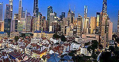 Os Edifícios Mais Altos Em Cingapura