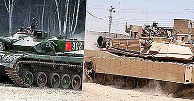 Tanques Dos Principais Exércitos Mundiais