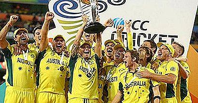 Les Meilleures Équipes Nationales De Cricket Et Les Gagnants De La Coupe Du Monde