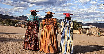 Stämme Und Ethnische Gruppen Von Namibia