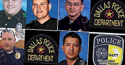 États Américains Comptant Le Plus D'Agents De Police Tués En Devoir