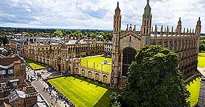 University Of Cambridge - Établissements D'Enseignement Dans Le Monde Entier