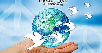 Ce Și Când Este Ziua Internațională A Păcii?