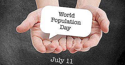 ¿Qué Y Cuándo Es El Día Mundial De La Población?