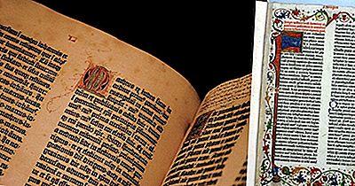 Qu'Est-Ce Que La Bible De Gutenberg?