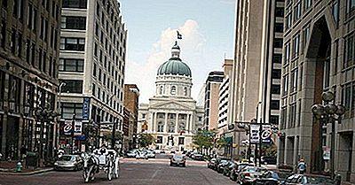 ¿Cuál Es La Población De Indianapolis, Indiana?