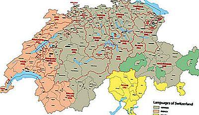 Cartina Cantoni Della Svizzera.Che Lingua Si Parla In Svizzera 2021