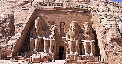 Templos De Abu Simbel - Locais Históricos Do Egito