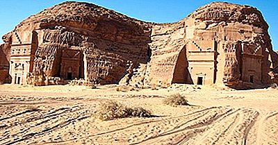 Al-Hijr (Mada'In Saleh): Historiska Platser I Saudiarabien