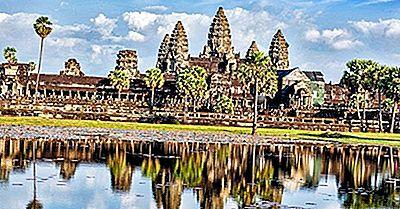 Sites D'Angkor De L'Empire Khmer, Cambodge