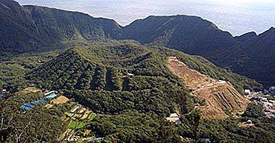 Aogashima Island, Japan - Einzigartige Orte Auf Der Ganzen Welt