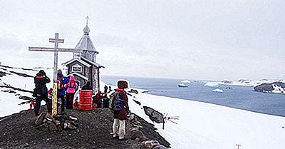 Y A-T-Il Des Édifices Religieux Dans Le Continent Gelé De L'Antarctique?