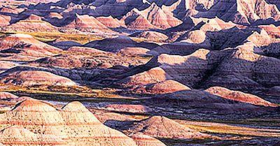 Badlands National Park, Dakota De Sud - Locuri Unice În Lume
