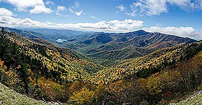 Blue Ridge Mountains, North Carolina - Einzigartige Orte Auf Der Ganzen Welt