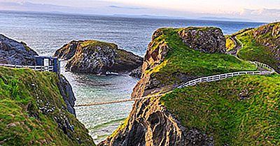 Carrick A Rede Rope Bridge - Luoghi Unici In Europa