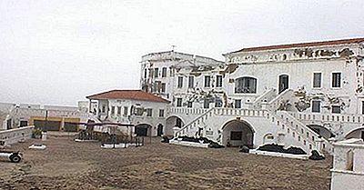 Castelli E Forti Costieri Storici Del Ghana