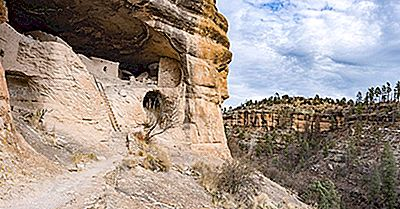 Gila Cliff Dwellings National Monument - Luoghi Unici In Nord America