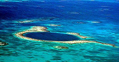 Mare Albastru Hole, Belize - Locuri Unice În Jurul Lumii