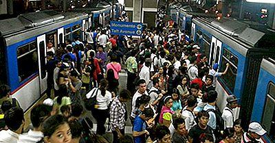 Il Più Alto Traffico Passeggeri Ferroviario Nel Mondo