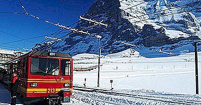 As Ferrovias Mais Altas Da Europa
