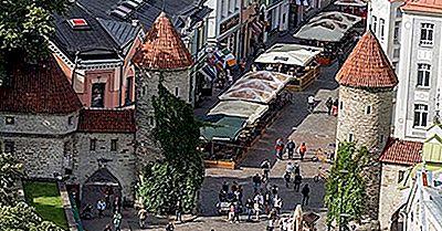 Città Storica Di Tallinn, In Estonia