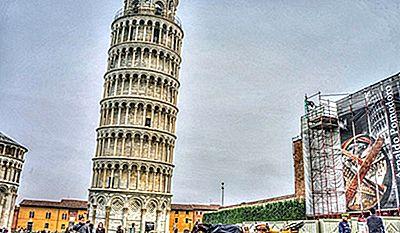 Ontwerper Toren Van Pisa.De Geschiedenis Achter De Meest Opvallende Historische Monumenten
