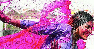 Holi - Das Hinduistische Festival Der Farbe