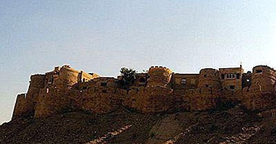Jaisalmer Fort Von Rajasthan, Indien