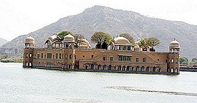 O Jal Mahal - Palácio Flutuante Do Rajastão, Índia