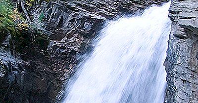 Johnston Canyon, Canadá - Lugares Únicos Ao Redor Do Mundo