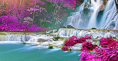 Kuang Si Falls, Laos - Lugares Únicos En El Mundo