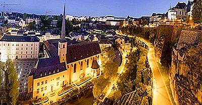 Ville De Luxembourg - Fortifications Historiques Et Vieux Quartiers