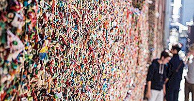 Market Theatre Gum Wall - Lugares Únicos En El Mundo