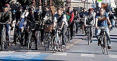 La Maggior Parte Delle Città Amiche Della Bicicletta Nel Mondo